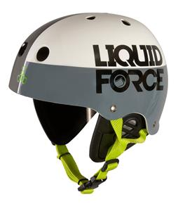 Liquid Force Fooshee Comp Wakeboard Helmet Black/Grey/White
