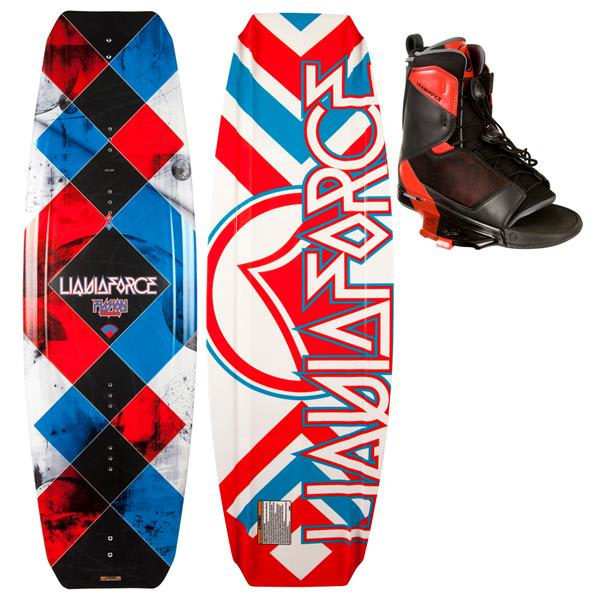 Liquid Force Fusion Wakeboard w/ Transit Bindings