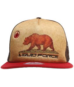 Liquid Force Golden Bear Cap Red/Brown/Khaki