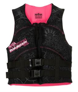 Liquid Force Heartbreaker CGA Wakeboard Vest Black/Pink