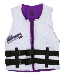 Liquid Force Heartbreaker CGA Wakeboard Vest White/Purple
