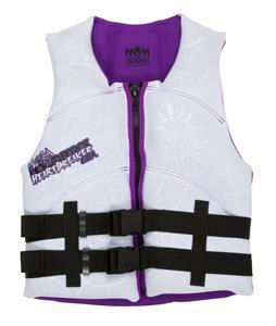 Liquid Force Heartbreaker CGA Wakeboard Vest White/Purple