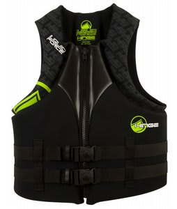 Liquid Force Hinge CGA Wakeboard Vest Black/Green