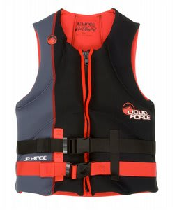Liquid Force Hinge CGA Wakeboard Vest Black/Red Youth