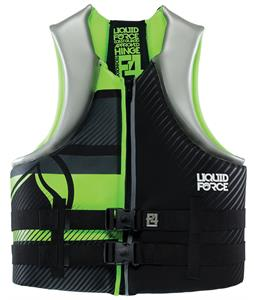 Liquid Force Hinge Wakeboard Vest Black/Green