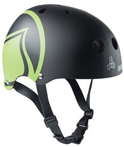 Liquid Force Icon Wakeboard Helmet Black/Green