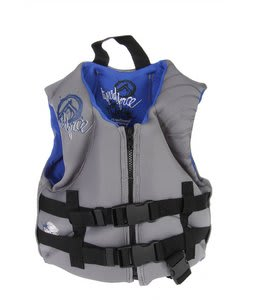 Liquid Force Junior Hinge Child Vest Gray Blue