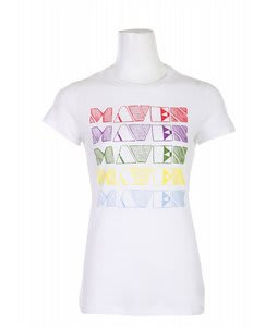 Liquid Force Rainbow Maven T-Shirt White