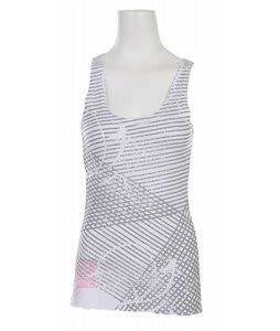 Liquid Force Painted Tank Top White
