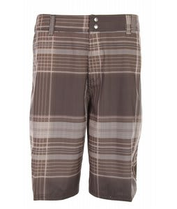 Liquid Force Plaidskiis Boardshorts Brown