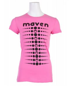 Liquid Force Polka Maven T-Shirt Hot Pink