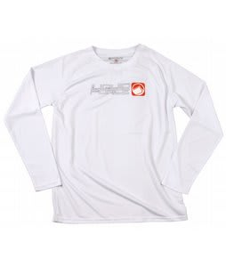 Liquid Force Pushing L/S Riding Shirt White