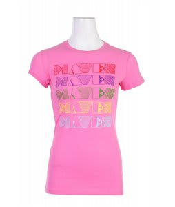 Liquid Force Rainbow Maven T-Shirt Hot Pink