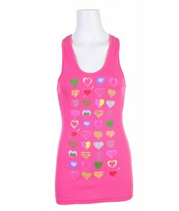 Liquid Force True Love Tank Top Fuschia