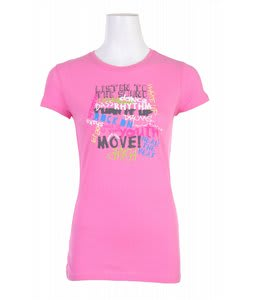 Liquid Force Turn It Up T-Shirt Hot Pink