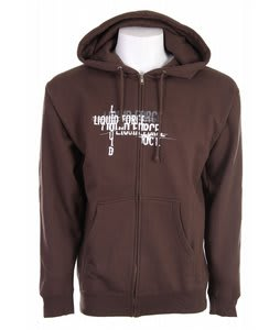 Liquid Force Vigor Hoodie Brown