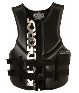 Liquid Force Vortex CGA Wakeboard Vest Black/Silver