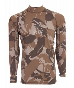 Liquid Force Warrior Rashguard Brown