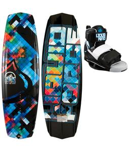 Liquid Force Witness Wakeboard 140 w/ Domain Bindings