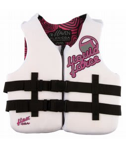 Liquid Force Flex CGA Wakeboard Vest White/Pink