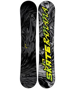 Lib Tech Skate Banana BTX Wide Snowboard Stealth Grey/Black 156