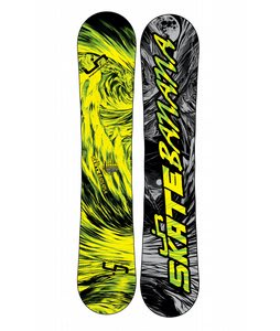 Lib Tech Skate Banana BTX Wide Snowboard Yellow/Green 153