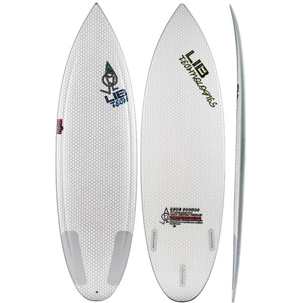 Lib Tech Bowl Surf Board Simple Logo 6ft 4in
