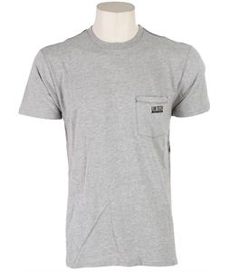 Lib Tech Finisher T-Shirt Heather Grey
