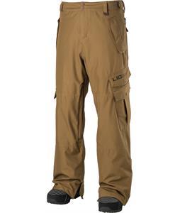 Lib Tech Go Car Snowboard Pants Dirt Brown