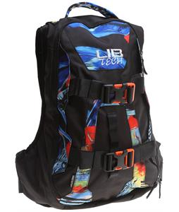 Lib Tech Hot Lap Backpack Mike Parillo Print 14L