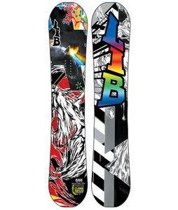 Lib Tech Limited Edition T-Rice C2BTX w/ Book Snowboard 153