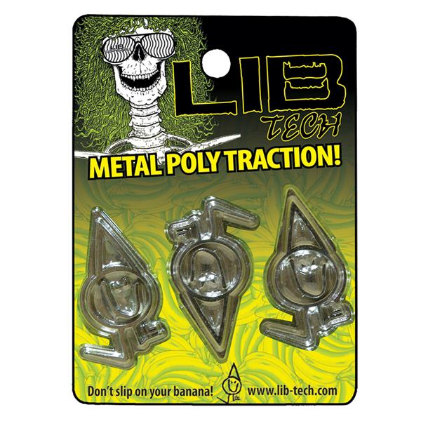 Lib Tech Metal Poly Traction Stomp Pad