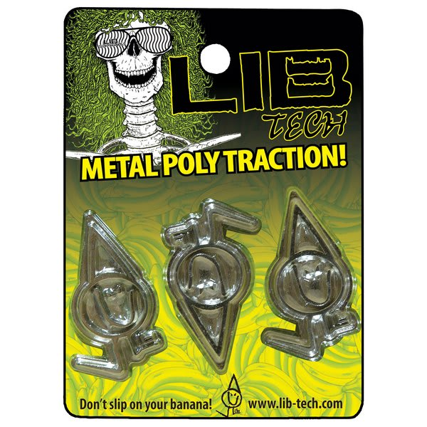 Lib Tech Metal Poly Traction Stomp Pad