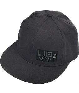 Lib Tech Patch Cap Black