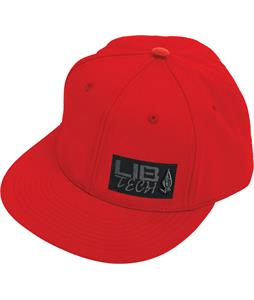 Lib Tech Patch Cap Red