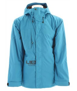 Lib Tech Re-Cycler Insulated Snowboard Jacket Solid Blue