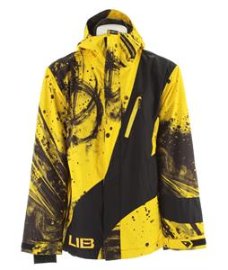 Lib Tech Recycler Insulated Snowboard Jacket Parillo Yellow