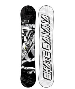 Lib Tech Skate Banana Wide Snowboard Black/White 162