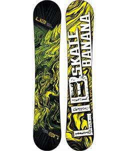 Lib Tech Skate Banana Wide Snowboard Yellow 156