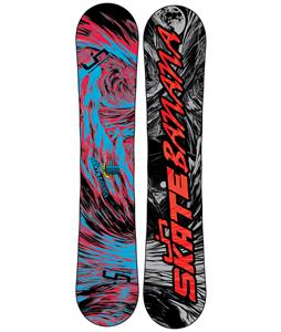 Lib Tech Skate Banana Wide Snowboard Blem Blue/Red 153