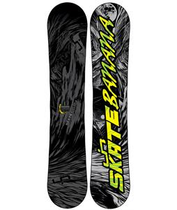 Lib Tech Skate Banana Wide Snowboard Blem Stealth Grey/Black 156