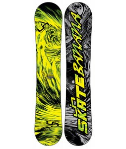 Lib Tech Skate Banana BTX Narrow Snowboard Yellow/Green 148