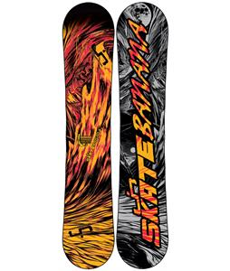 Lib Tech Skate Banana BTX Narrow Snowboard Black/Orange 148