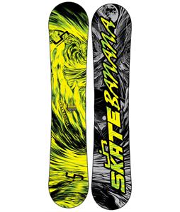Lib Tech Skate Banana Wide Snowboard Blem Yellow/Green 156