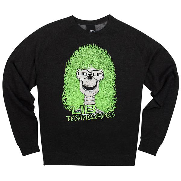 Lib Tech Skull-It Crew Sweatshirt