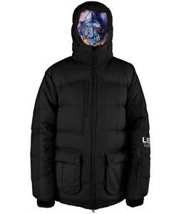 Lib Tech Totally Down Snowboard Jacket Black