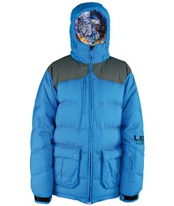 Lib Tech Totally Down Snowboard Jacket Blue