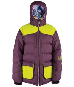 Lib Tech Totally Down Snowboard Jacket Burgundy