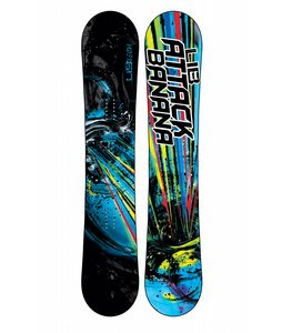 Lib Tech Attack Banana EC2BTX Wide Snowboard 161