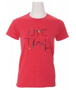 Lifetime Collective Danger Yard T-Shirt Heather Chinese Red